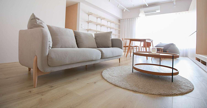 客廳空間木地�