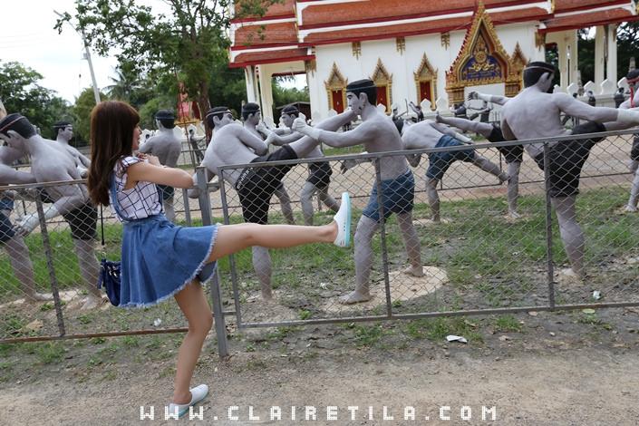 曼谷近郊旅‧樹中廟 求子廟‧泰拳公園 (1).JPG